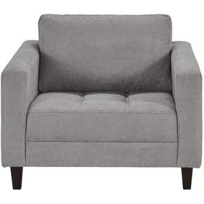 smart Sessel grau - Stoff Geradine ¦ grau ¦ Maße (cm): B: 91 H: 93 T: 92 Polstermöbel  Sessel  Polstersessel » Höffner