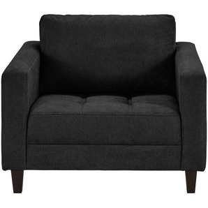 smart Sessel schwarz - Stoff Geradine ¦ schwarz ¦ Maße (cm): B: 91 H: 93 T: 92 Polstermöbel  Sessel  Polstersessel » Höffner
