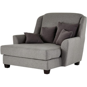 smart Sessel grau - Stoff Lisbeth ¦ grau ¦ Maße (cm): B: 135 H: 100 T: 144 Polstermöbel  Sessel  Ohrensessel » Höffner