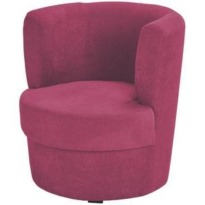 smart Sessel rot - Stoff Marina ¦ rot ¦ Maße (cm): B: 60 H: 69 T: 60