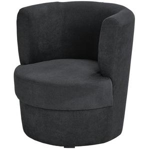 smart Sessel schwarz - Stoff Marina ¦ schwarz ¦ Maße (cm): B: 60 H: 69 T: 60 Polstermöbel  Sessel  Polstersessel » Höffner