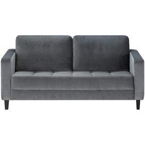 smart Sofa grau - Mikrofaser Geradine ¦ grau ¦ Maße (cm): B: 177 H: 93 T: 92 Polstermöbel  Sofas  2-Sitzer » Höffner