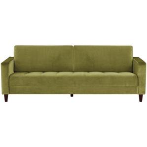 smart Sofa grün - Mikrofaser Geradine ¦ grün ¦ Maße (cm): B: 226 H: 93 T: 92 Polstermöbel  Sofas  3-Sitzer » Höffner