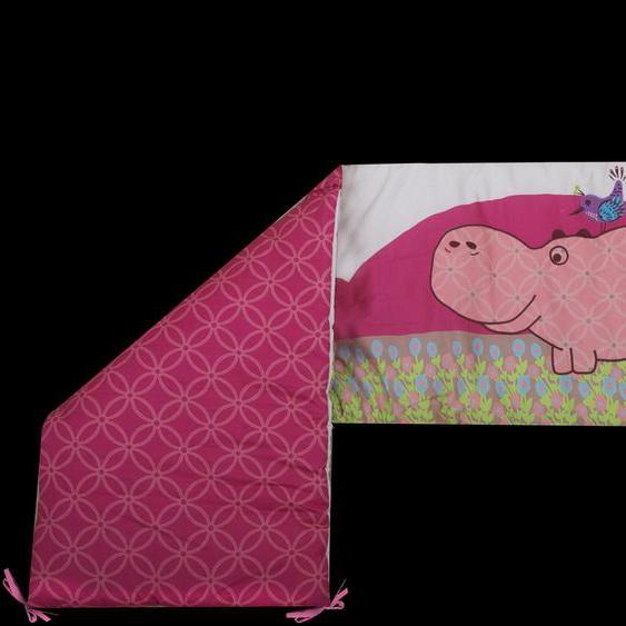 smarTrike Bettnestchen toTs by SmarTrike Joy Hippo, pink Einheitsgröße rosa Baby Nestchen Babybettausstattung Babymöbel