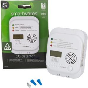 smartwares CO-Melder Kohlenmonoxid-Melder, Innenbereich Einheitsgröße weiß Sicherheitstechnik Bauen Renovieren