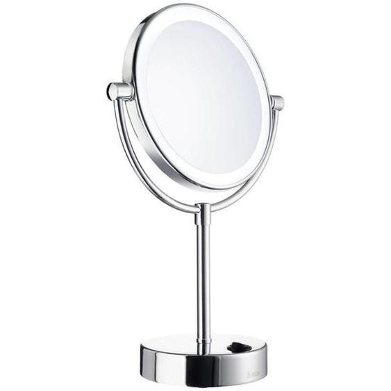 Smedbo Kosmetikspiegel , Metall , 34.5 cm