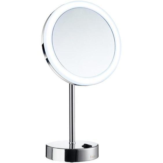 Smedbo Kosmetikspiegel, Silber, Chrom, Alu, Nickel, Stahl
