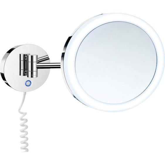 Smedbo Kosmetikspiegel Silber , Glas , 34 cm