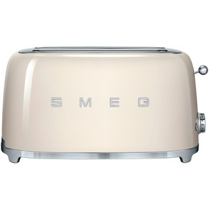 smeg 4-Scheiben-Toaster  TSF02CREU - creme - Edelstahl - 39,4 cm - 21,5 cm - 20,8 cm | Möbel Kraft