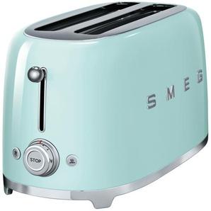 smeg 4-Scheiben-Toaster  TSF02PGEU - grün - Edelstahl - 39,4 cm - 21,5 cm - 20,8 cm | Möbel Kraft