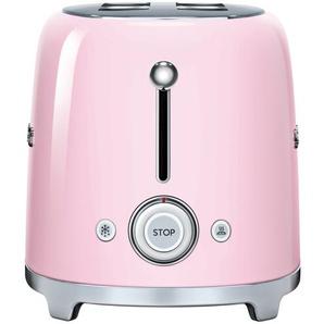 smeg 4-Scheiben-Toaster  TSF02PKEU - rosa/pink - Edelstahl - 39,4 cm - 21,5 cm - 20,8 cm | Möbel Kraft