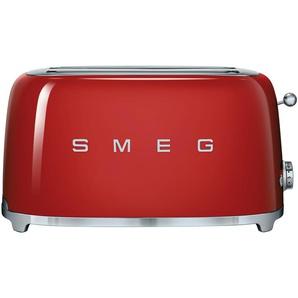 smeg 4-Scheiben-Toaster  TSF02RDEU | rot | Edelstahl | 39,4 cm | 21,5 cm | 20,8 cm | Möbel Kraft