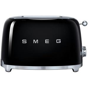 smeg Toaster  TSF01BLEU - schwarz - Edelstahl - 31 cm - 19,8 cm - 19,5 cm | Möbel Kraft
