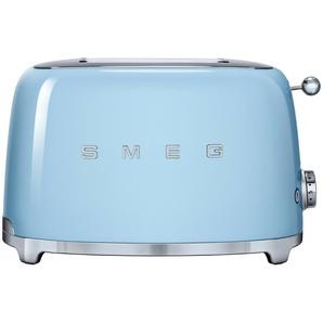 smeg Toaster  TSF01PBEU - blau - Edelstahl - 31 cm - 19,8 cm - 19,5 cm | Möbel Kraft