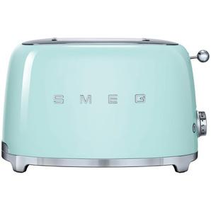 smeg Toaster  TSF01PGEU - grün - Edelstahl - 31 cm - 19,8 cm - 19,5 cm | Möbel Kraft