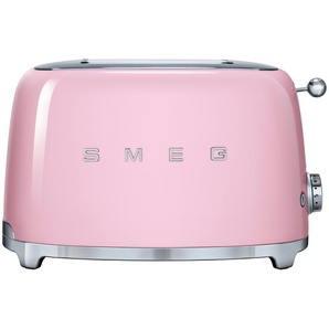 smeg Toaster  TSF01PKEU | rosa/pink | Edelstahl | 31 cm | 19,8 cm | 19,5 cm | Möbel Kraft