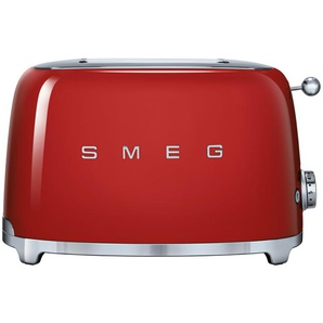 smeg Toaster  TSF01RDEU | rot | Edelstahl | 31 cm | 19,8 cm | 19,5 cm | Möbel Kraft