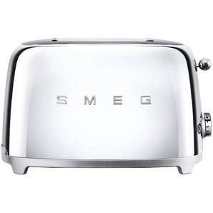 smeg Toaster  TSF01SSEU | silber | Edelstahl | 31 cm | 19,8 cm | 19,5 cm | Möbel Kraft