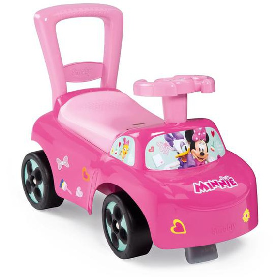 Smoby 3-in-1 Rutschauto Minnie Rosa