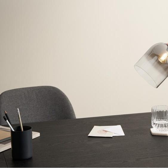 Smyth Tischlampe, Grau und Kupfer