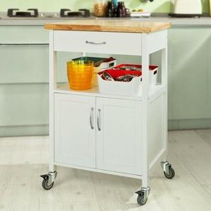 Sobuy® Küchenwagen,küchenschrank,getränkewagen Fürs Büro,rollwagen
