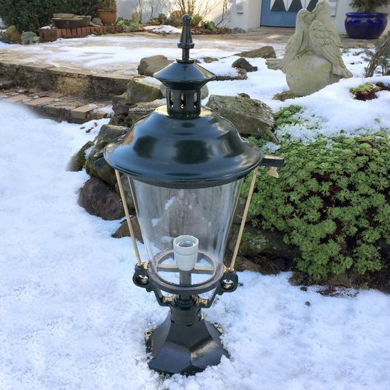 Sockellampen Vintage - Aussenleuchten Antik Lampen für den Garten - H.69,5 cm