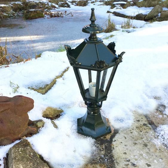 Sockelleuchte Aussenleuchte kleine Lampe für den Gartenweg Beleuchtung - H.61 cm