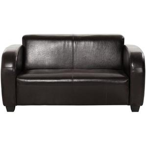 Sofa 2-sitzig  Charlize ¦ braun ¦ Maße (cm): B: 143 H: 68 T: 84 Polstermöbel  Sofas  2-Sitzer » Höffner