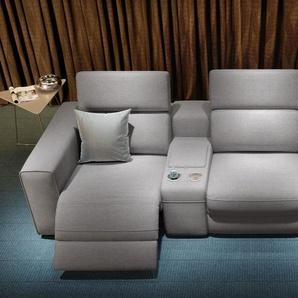 Sofa 3-Sitzer BOVINO Webstoff Couchgarnitur Textil