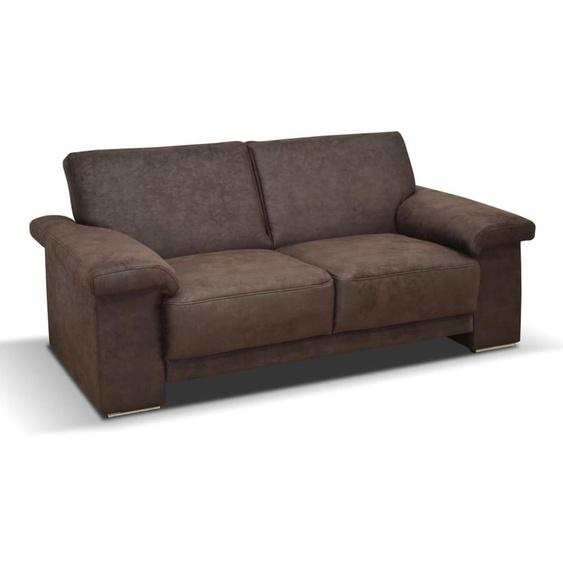 Sofa Arizona 2-Sitzer in dunkelbraun