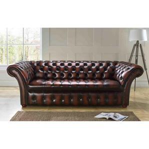Sofa Barmore aus Echtleder