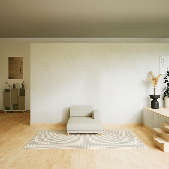 Sofa Cremeweiß - Moderne Designer-Couch: Hochwertige Qualität, einzigartiges Design - 104 x 75 x 162 cm, Komplett anpassbar