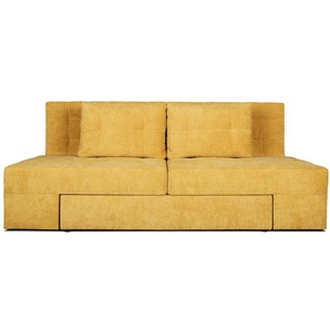 Sofa Dublin mit Boxspringpolsterung Schlaffunktion