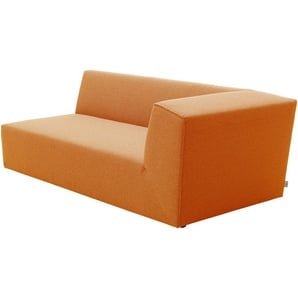 TOM TAILOR Ecksofa , orange, 190cm, »ELEMENTS«