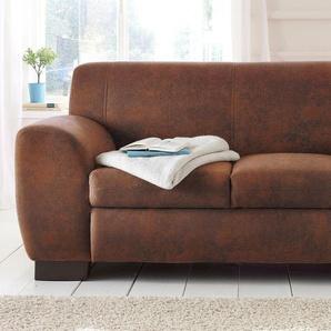 Home affaire Sofa »Nika«, braun, 2-Sitzer, 159cm, FSC®-zertifiziert