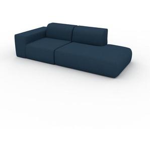 Sofa Ozeanblau - Moderne Designer-Couch: Hochwertige Qualität, einzigartiges Design - 243 x 72 x 107 cm, Komplett anpassbar