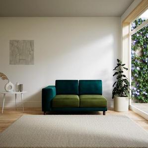 Sofa Olivgrün - Moderne Designer-Couch: Hochwertige Qualität, einzigartiges Design - 144 x 75 x 98 cm, Komplett anpassbar