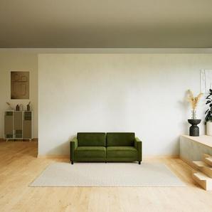 Sofa Olivgrün - Moderne Designer-Couch: Hochwertige Qualität, einzigartiges Design - 184 x 75 x 98 cm, Komplett anpassbar
