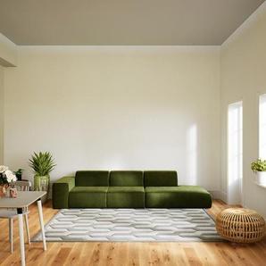 Sofa Olivgrün - Moderne Designer-Couch: Hochwertige Qualität, einzigartiges Design - 318 x 72 x 107 cm, Komplett anpassbar