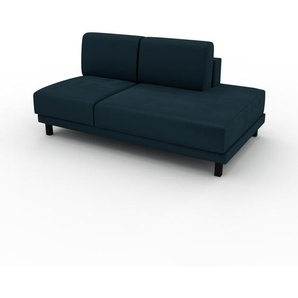 Sofa Petrolblau - Moderne Designer-Couch: Hochwertige Qualität, einzigartiges Design - 160 x 75 x 98 cm, Komplett anpassbar