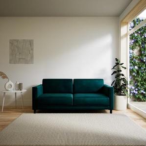 Sofa Petrolblau - Moderne Designer-Couch: Hochwertige Qualität, einzigartiges Design - 184 x 75 x 98 cm, Komplett anpassbar