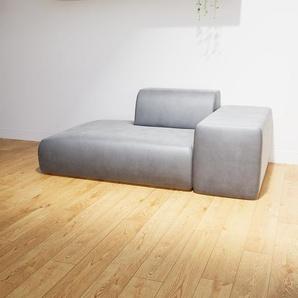 Sofa Sandgrau - Moderne Designer-Couch: Hochwertige Qualität, einzigartiges Design - 182 x 72 x 107 cm, Komplett anpassbar