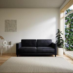Sofa Steingrau - Moderne Designer-Couch: Hochwertige Qualität, einzigartiges Design - 184 x 75 x 98 cm, Komplett anpassbar