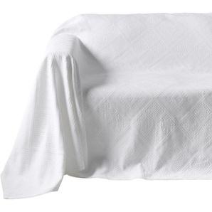Sofaüberwurf mit Hoch-/Tief-Struktur