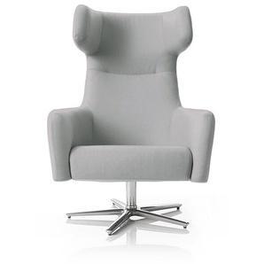 Softline Drehsessel Havana Swivel grau, Designer Busk & Hertzog, 113x79x90 cm