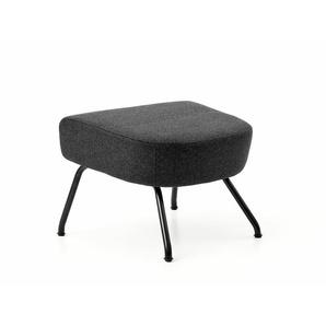 Softline Havana Hocker grau, Designer Busk & Hertzog, 40x58x48 cm