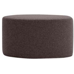 Softline Hocker Bon-Bon braun, Designer Busk & Hertzog, 33x60x30 cm