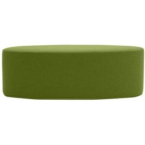 Softline Hocker Bon-Bon grün, Designer Busk & Hertzog, 33x100x40 cm