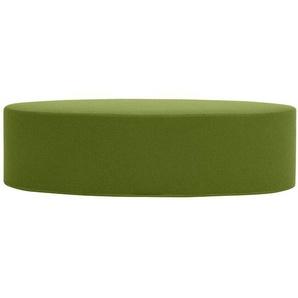 Softline Hocker Bon-Bon grün, Designer Busk & Hertzog, 33x120x50 cm