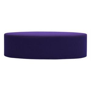Softline Hocker Bon-Bon lila, Designer Busk & Hertzog, 33x120x50 cm